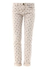 Current/Elliott The Roller Relaxed Fit Skinny Jeans - Lyst