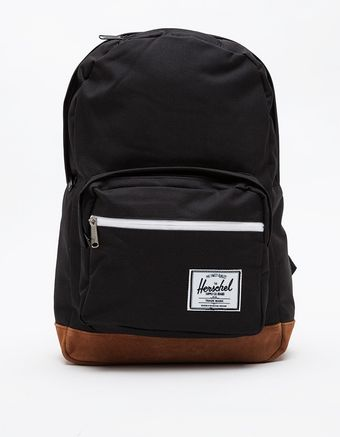 Herschel Supply Co. Suede Pop Quiz in Black - Lyst