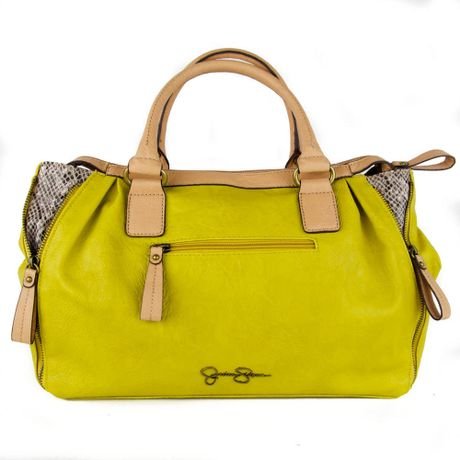 Jessica Simpson Mila Golden Rod Satchel in Yellow