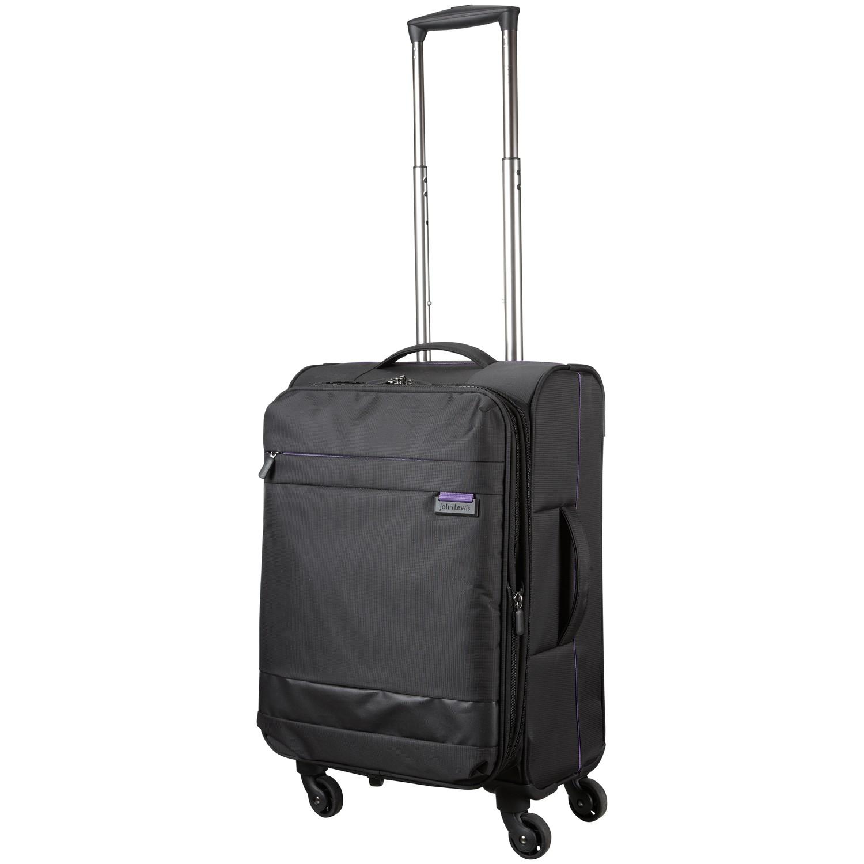 john lewis x 39 air 2 4 wheel 56cm cabin suitcase in black. Black Bedroom Furniture Sets. Home Design Ideas