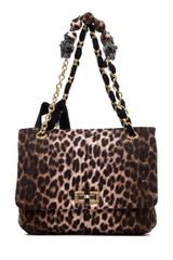 Lanvin 10 Year Anniversary Happy Handbag in Animal Printbrown - Lyst