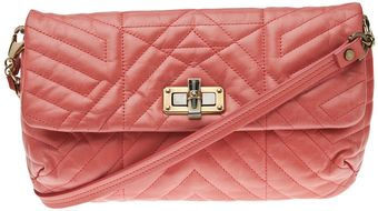 Lanvin Large Happy Quilted Clutch - Lyst