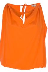 P.a.r.o.s.h. Boxy Sleeveless Top - Lyst