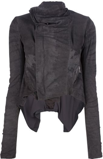 Rick Owens Zipped Jacket - Lyst