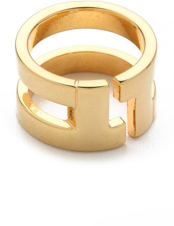 Tory Burch Tripp Metal Ring - Lyst