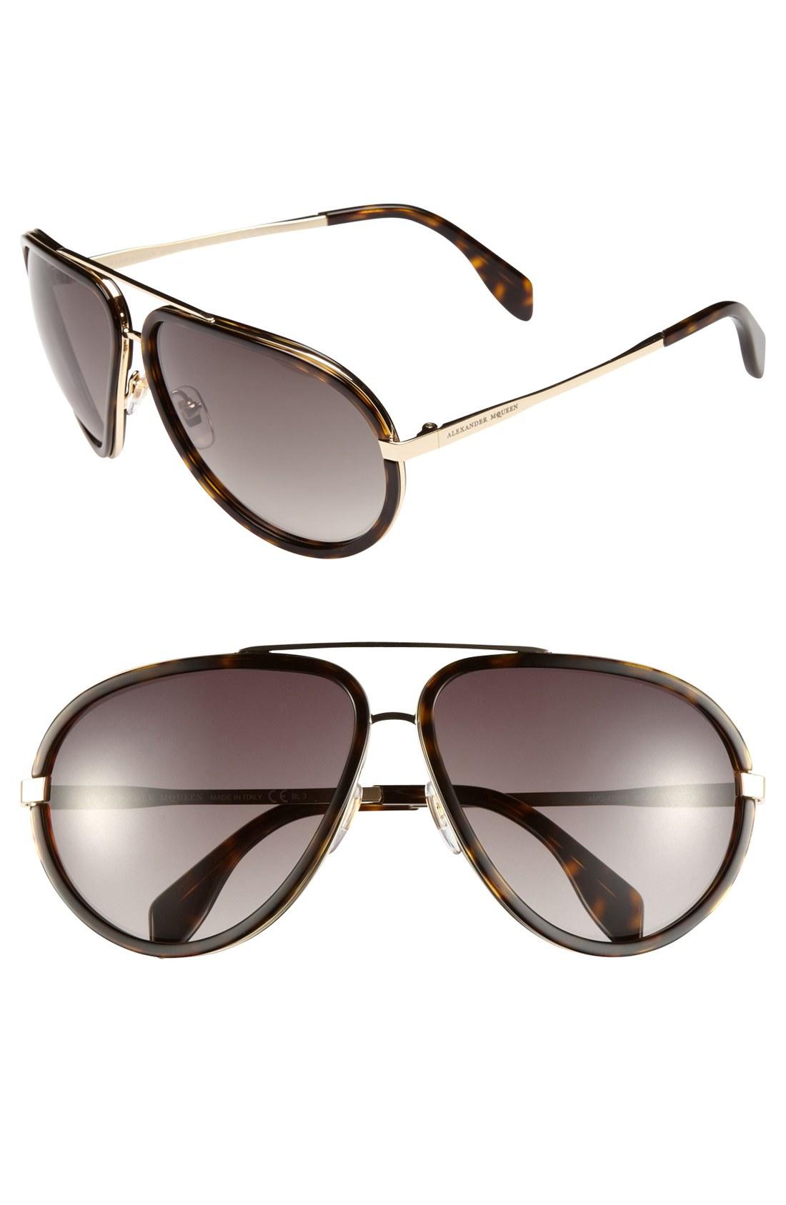 alexander mcqueen sunglasses aviators