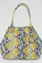 Cole Haan Village Convertible Snakeprint Tote Bag Multicolor - Lyst
