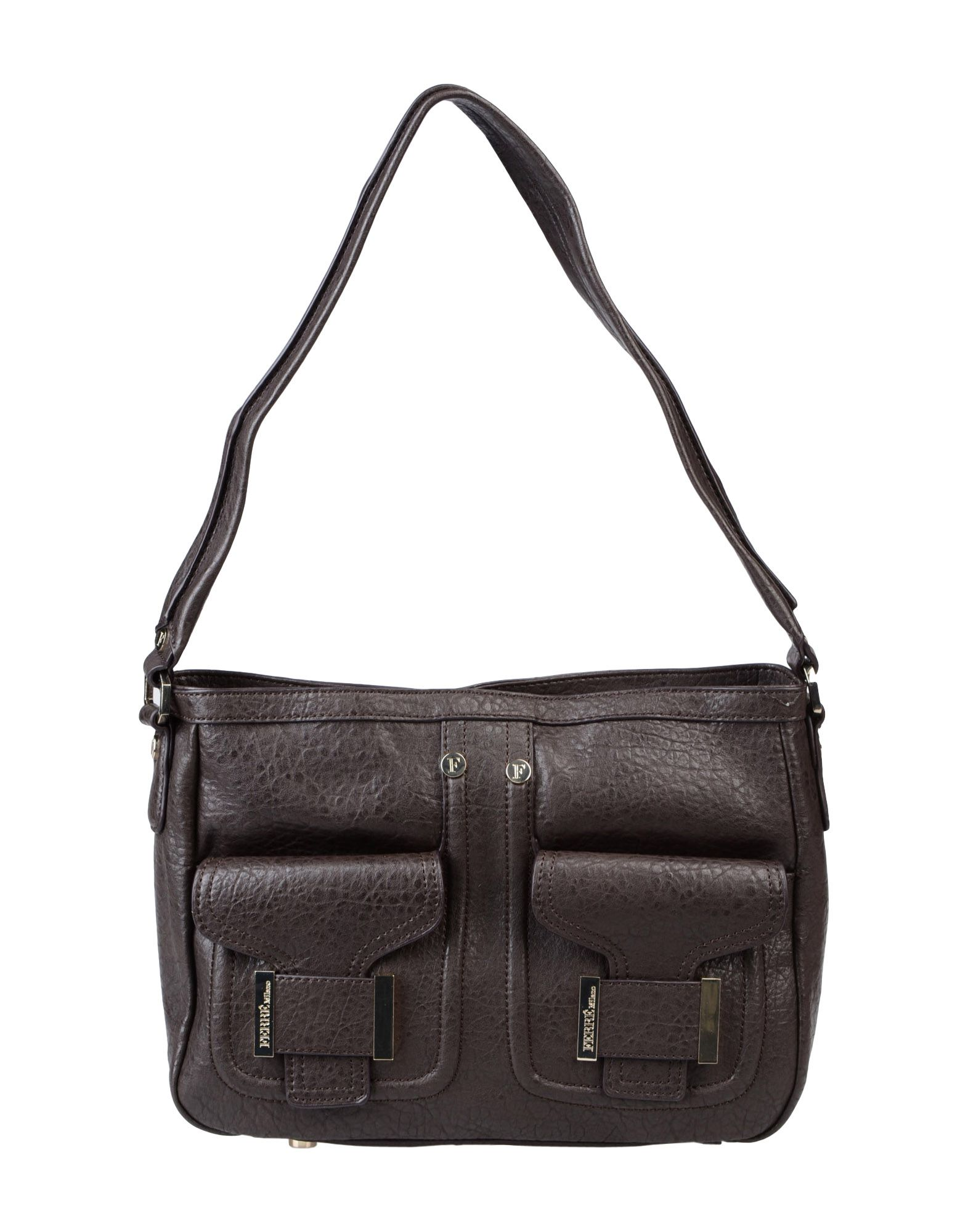 Lyst - Ferré Medium Fabric Bag in Brown