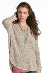 Free People Poppyseed Yarn Pullover Sweater - Lyst