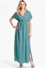 Michael by Michael Kors Mod Print Maxi Dress - Lyst