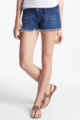 Siwy Camilla Denim Cutoff Shorts Come Away with Me - Lyst