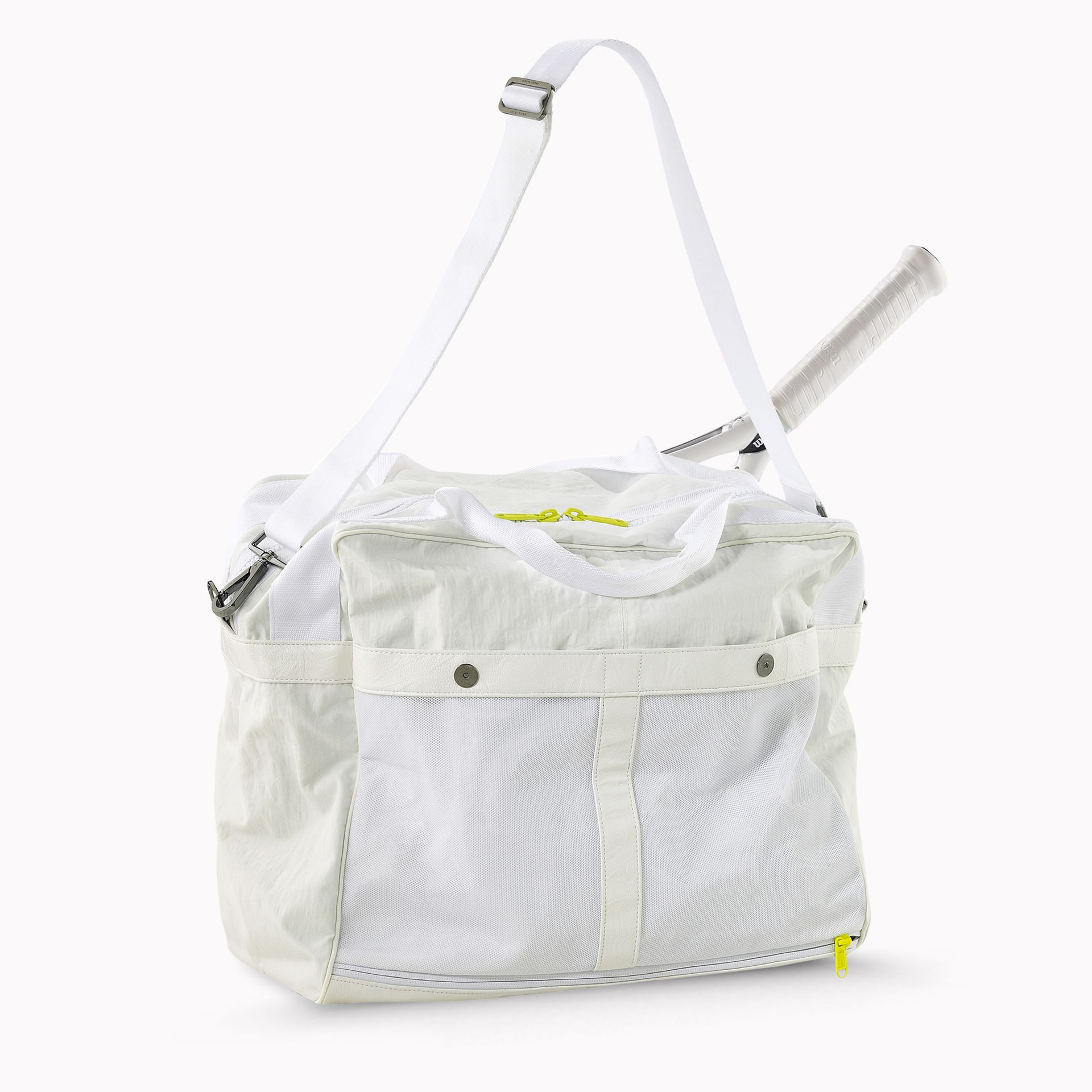 203f0fa0ed Adidas Stella Mccartney Tennis Bag White