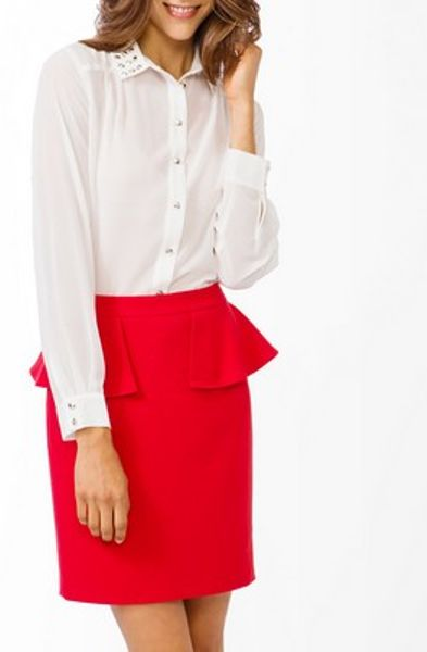 White Blouse Forever 21 58