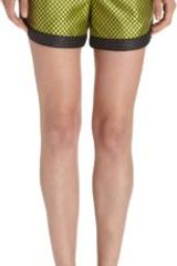 Jonathan Simkhai Checked Shorts - Lyst
