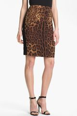 Vince Camuto Print Pencil Skirt - Lyst