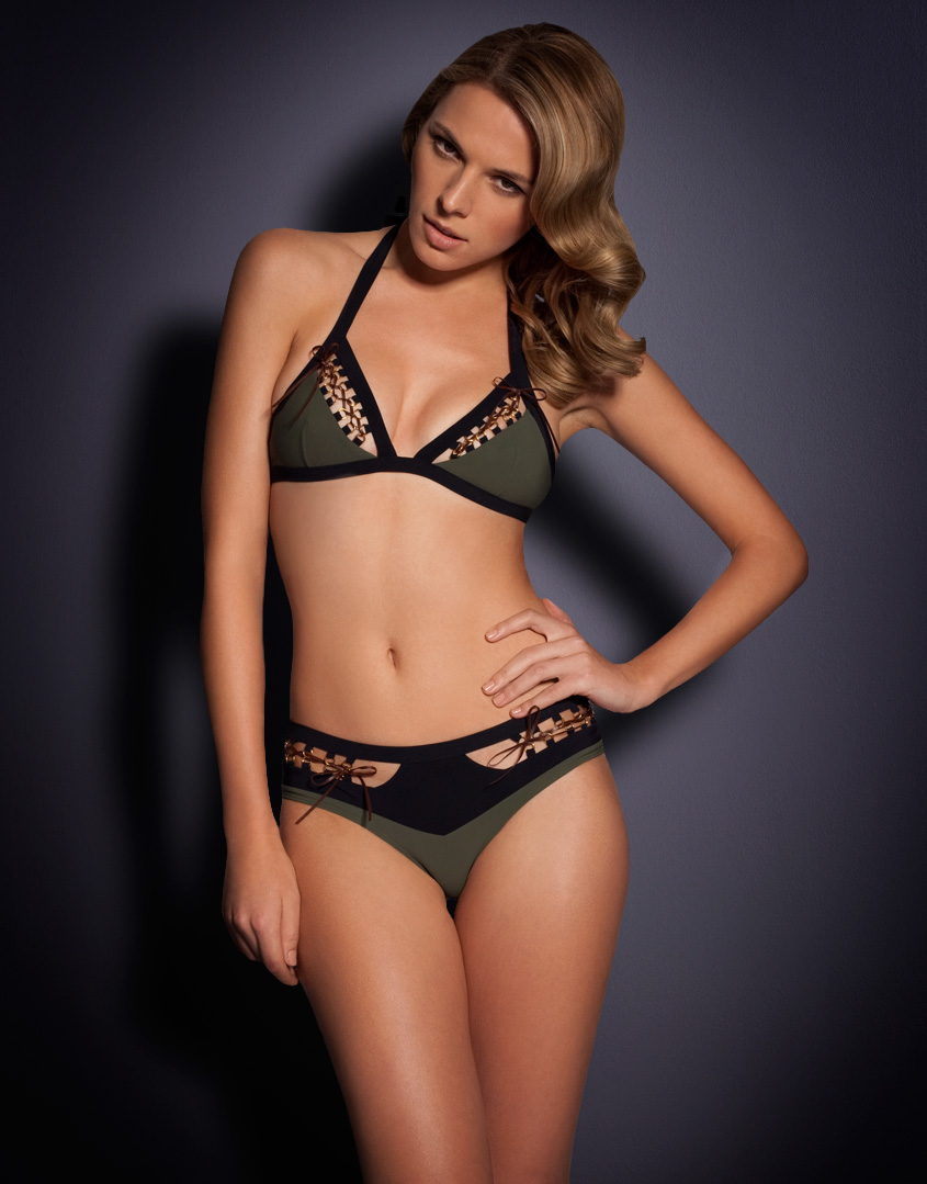 Agent provocateur Roxxanne Bikini Brief in Green