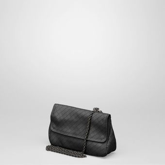 Bottega Veneta Intrecciomirage Messenger Mini Bag - Lyst