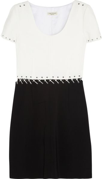 Rag & Bone Darlene Piqué Dress - Lyst