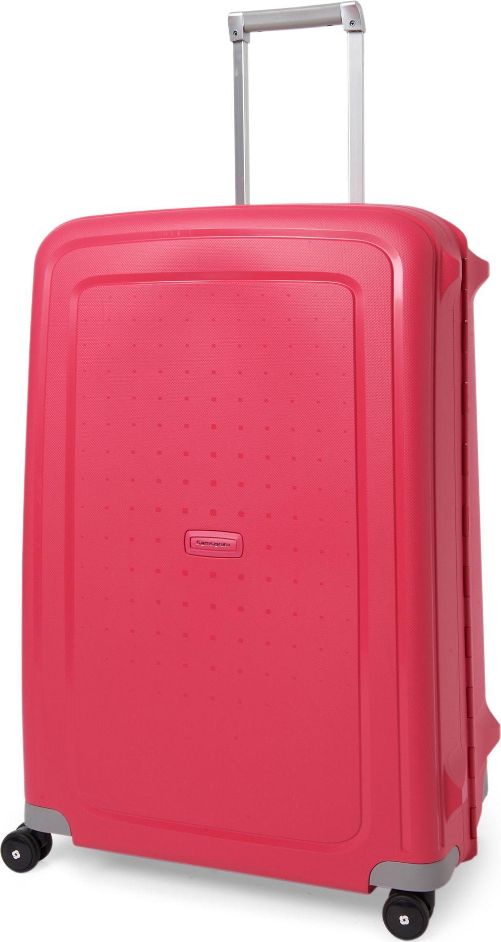 samsonite scure four wheel suitcase 75cm in pink for men. Black Bedroom Furniture Sets. Home Design Ideas