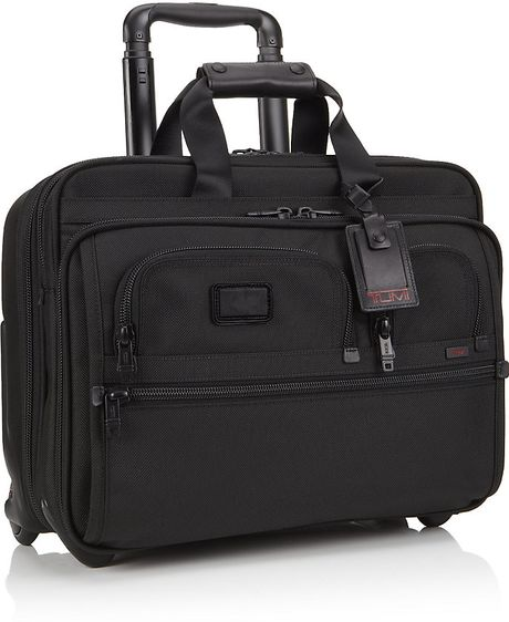 Awesome Tumi Voyageur Athens Carryall Laptop Bag In Black  Lyst