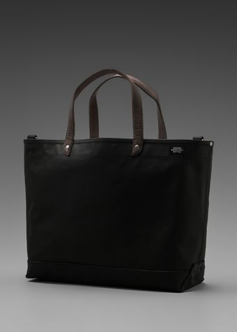 Jack Spade Blackboard Canvas Coal Bag in Black - Lyst