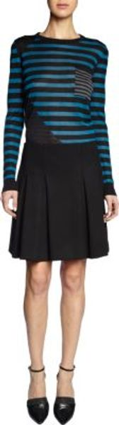 Proenza Schouler Combo Striped Sweater - Lyst