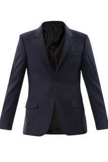 Alexander McQueen Fancy Pindot Suit Jacket - Lyst