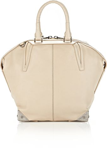 Alexander Wang Small Emile in Champagne with Yellow Gold - Lyst
