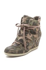 Ash Bea Wedge Sneakers - Lyst