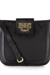 DKNY Town Country Vintage Leather Cross Body Bag - Lyst