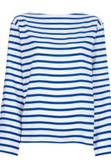 Ralph Lauren Black Label Striped Top - Lyst
