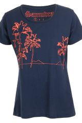 Dezso Exclusive Printed Cotton Tshirt - Lyst