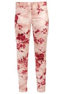J Brand Floral Printed Stretch Denim Jeans - Lyst