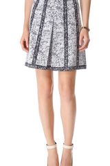 10 Crosby by Derek Lam Inverted Pleat Skirt - Lyst