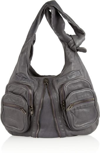 Alexander Wang Donna Washedleather Shoulder Bag - Lyst