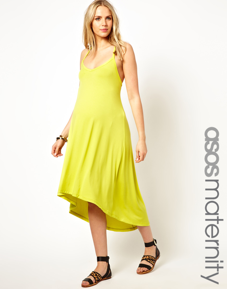 Asos maternity exclusive beach dress with adjustable straps in gallery ombrellifo Image collections