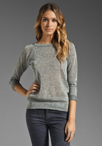 Bailey 44 Cold Sweat Sweater in Metallic Silver - Lyst