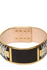 Balmain 75mm Crystal Suede High Waisted Belt - Lyst