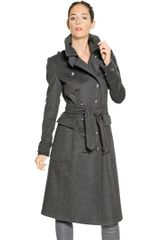 Burberry Brit Sheeran Military Cashmere Blend Coat - Lyst