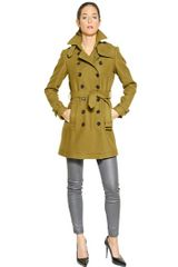 Burberry Brit Crombrooke Double Breasted Wool Coat - Lyst