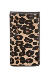 Burberry Prorsum Leopard Printed Ponyskin Iphone 5 Case - Lyst