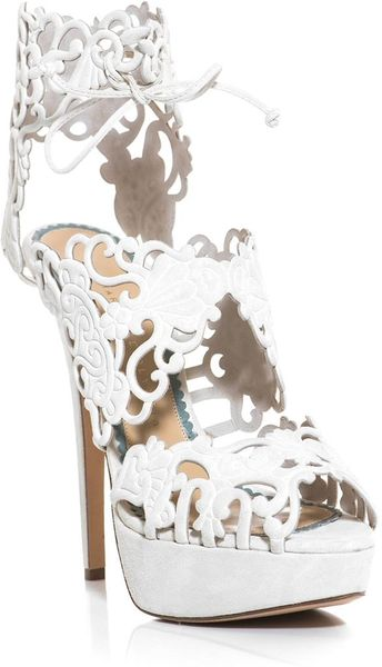 Charlotte Olympia Margherita Metallic Leather Sandals In