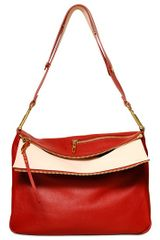 Chloé Large Vanessa Shiny Leather Bag - Lyst