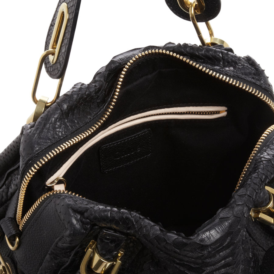 chloe bag replica - chloe python medium paraty satchel, chloe marcie knockoff