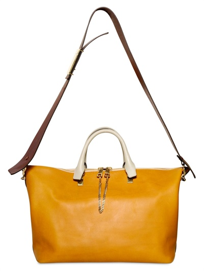 Chlo¨¦ Medium Baylee Two Face Leather Bag in Multicolor (multi ...
