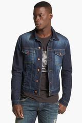 Dolce & Gabbana Dark Denim Jacket - Lyst