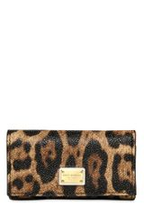 Dolce & Gabbana Leopard Printed Key Holder - Lyst