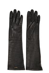DSquared2 Nappa Leather Long Gloves - Lyst