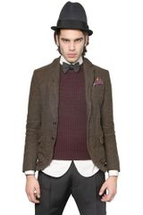 DSquared2 Poor Boy Checked Wool Jacket - Lyst