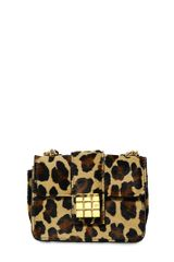 DSquared2 Niagara Leopard Print Pony Shoulder Bag - Lyst